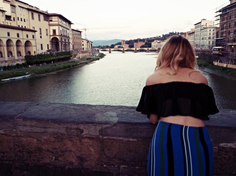 Palazzo Vecchio before dark